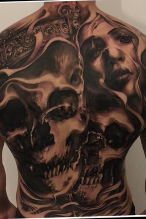 Freehand backpiece. 3 days in a row start to finish.
