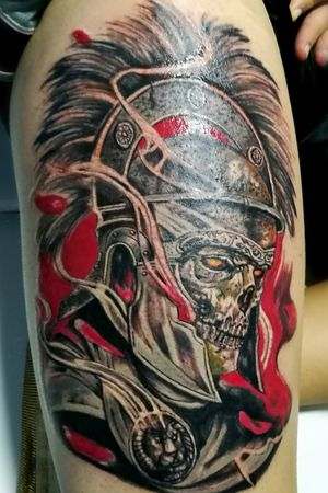 Color tattoo by DG in Eternaltattoo Cr