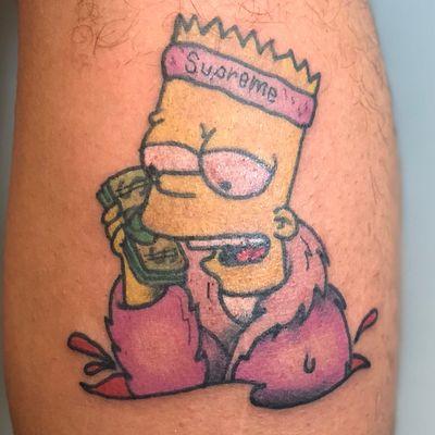 #bart #BartSimpson #Simpsons #simpsonstattoo #camron