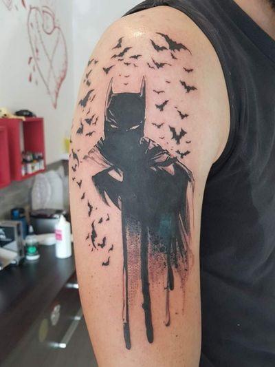 #batman #bulldencre #tattooart