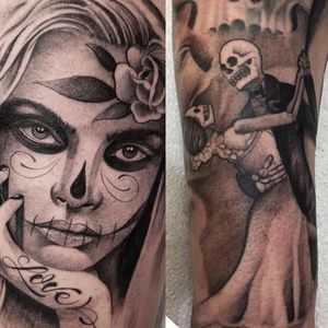 Couple excamples from a resent sleeve thatninjust finished