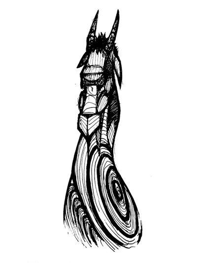 Goat 🐐 #draw #art #artwork #lineart #simple #goat #animal #sexy #blackandwhite #sketch #flash #fun #elegant #minimalist #black #horns