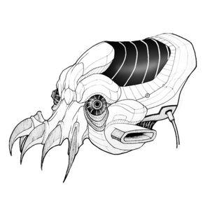 Roboctopus 🐙 #draw #art #artwork #lineart #simple #animal #mystic #creature #blackandwhite #sketch #flash #fun #elegant #minimalist #black #robot #octopus #future #mask #cyberpunk