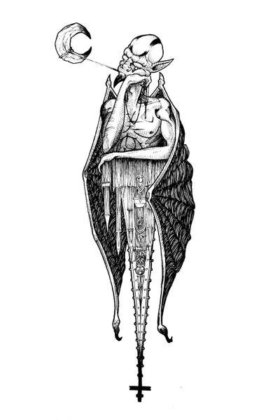 Gargoyle 🏰 #draw #art #artwork #lineart #simple #animal #fantasy #mysticalcreature #mystic #myth #blackandwhite #sketch #flash #fun #elegant #minimalist #black #gargoyle #cathedral