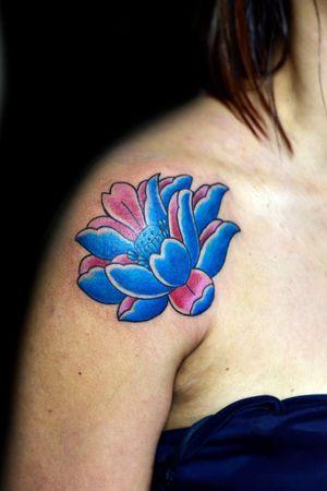 #lotustattoo #lotus #thiagopadovani