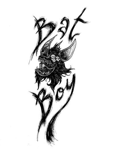 Bat Boy 🦇 #draw #art #artwork #lineart #simple #animal #fantasy #batman #blackandwhite #sketch #flash #fun #elegant #minimalist #black #bat #dark