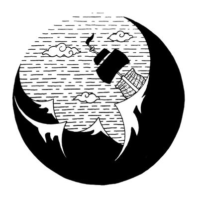 Storm 🌊 #draw #art #artwork #lineart #simple #storm #wave #pirate #adventure #blackandwhite #sketch #flash #fun #elegant #minimalist #black