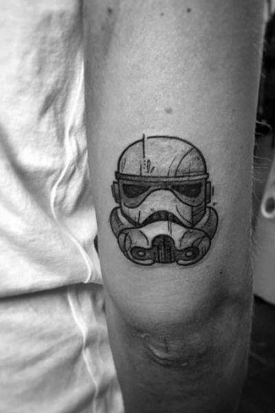 Stormtrooper #starwars #stormtrooper #white #black #nerd