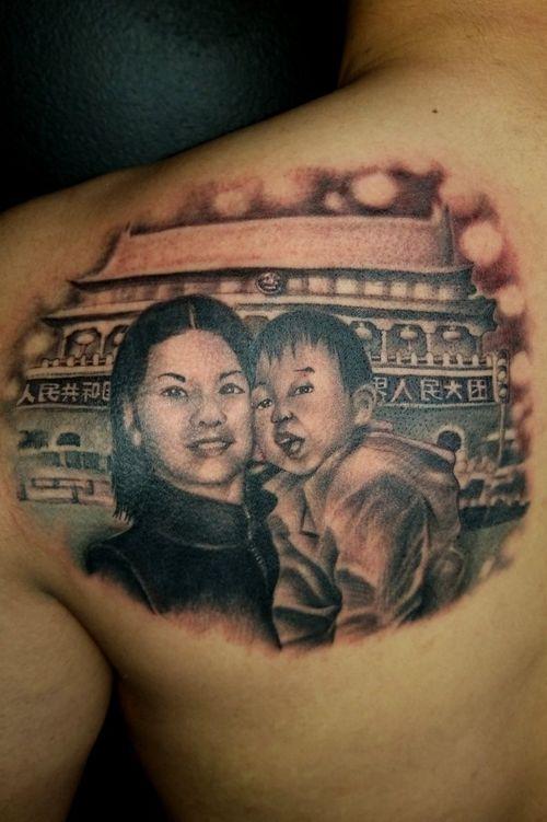 #chicagotattoo #chicagotattooartists #tattoounion #portrait #portraittattoo #inked #tattoodo #chicagochinatown #realstic