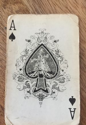 Aces Are... Playing Cards - Reference (Ace of Spades)