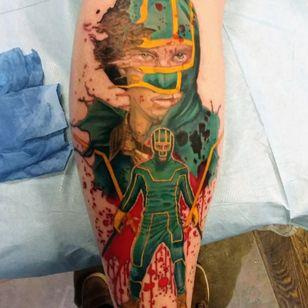 Kick Ass Tattoo