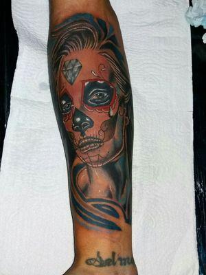 Tattoo colorida trabalho mexicano catrina Tattoo feita em 6 hrs obrigado por olharem Quem puder da um like ou segui la o studio #tattoo #tattoo2me #arte #tatuagemcolorida #SP #brasilia #tattoodobrasil