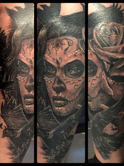 #lacatrina #catrina #tattoo #nofilter #kölntattoo #colognetattoo #coelntattoo #köln #cgn #jangoscoelntattoo #bngtattoo #realistictattoo #jangobruce #abstractsilvertattoosupply #blackandgrey #blackandgreytattoo #blackandgreytattoos #tattooartist #tattooartistmag #inked #inkaddict
