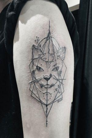 "Tattoo by  ""Upstairs"" tattoo image"