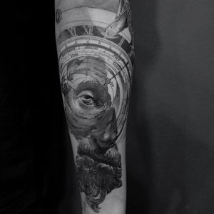Tattoo by ColdGray #ColdGray #2019TattooTrendForecast #2019TattooTrend #TattooTrends