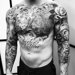 Loved tattooing this #chesttattoo