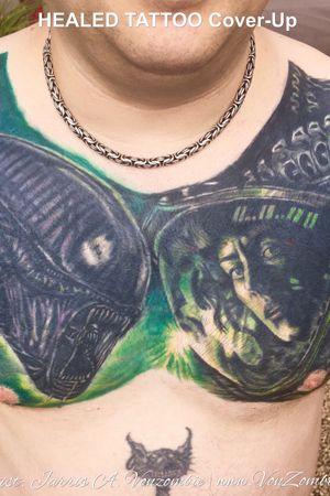 Tattoo by Vonzombie Studio