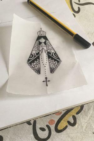 #nossasenhora #tattoosketch #thiagopadovani