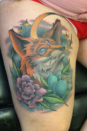 Three eyed fox