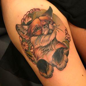 #fox #foxtattoo #animal #animaltattoo