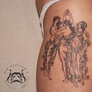 Le tre Grazie - Botticelli