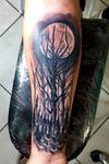 Bosque tattoo Arbol tattoo #blackAndWhite #blackworktattoo