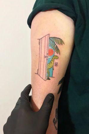 @lazy_tatts#tattoo#colorful#tattooartist
