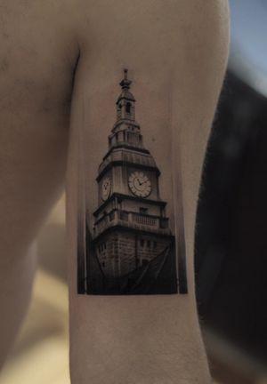 Watchtower #watchtower #realistic #building #blackandgrey #jefreenaderali #coverup