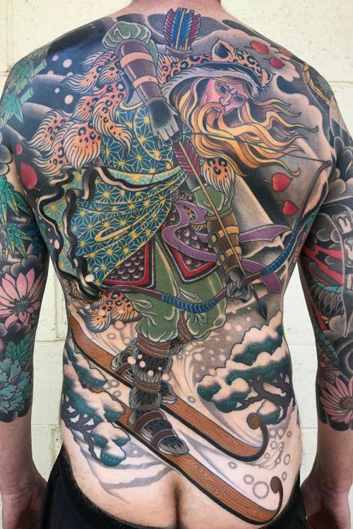 #backpiece #backtattoo #japanese #japanesetattoo #DarcyNutt #chalicetattoo