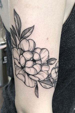 Peony#tattoo#tattooartisf#peony#peoniea#floral#floraltattoo#peonytattoo#lasvegastattoo