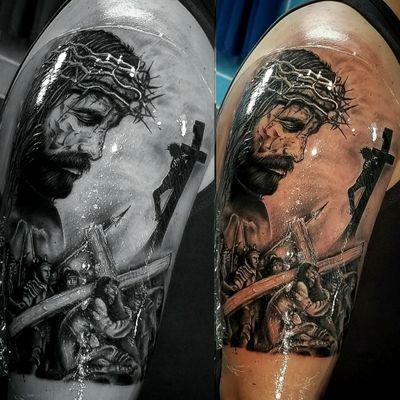 #jesus #jesuscristo #JesusChrist #jesustattoo #JesusTattoos #tattoojesus #tattoocross #cross #crosstatto #crosstattoo #catholic #catholicism #tattooartist #tattooart #tattooartistmagazine #tattooartists #tattooartwork #tattooartmagazine #tattooarte #tattooartistmagazin #tattooartista #tattoo#tatouage #tatouages #tatoo #tatouageartiste #tatooartist #tatoodo #tatoos #tatooed #tatuagem #tatuaje #tatuajes #tatuadora #tatuaggi #tatu