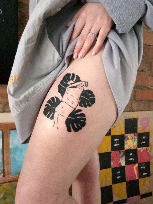 @lazy_tatts#tattoo#blacktattoo#tattooartist