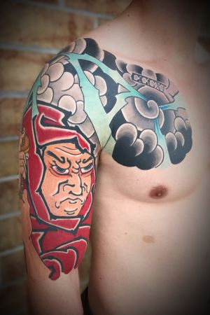 #nctattooers #japanesetattoo #tattoo #samurai #raleigh #charlotte #philly #irezumi #jacksonvillenc #japanesestyle