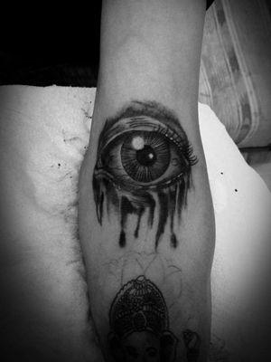 #eyes #tattoos #blackandgreytattoo #inked #realism #jaser #tattoo #mexico #ojo #tatuaje