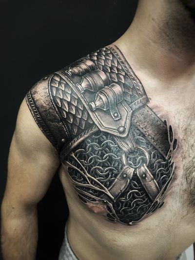 #armor #armortattoo #WitcherTattoo #witcher #fantasy #madmamont