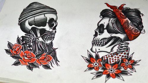 #skulltattoo #skull #thiagopadovani