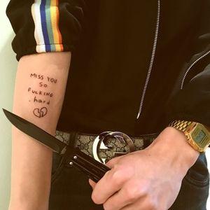 #Black #tattooartist #ignorantstyle #broken
