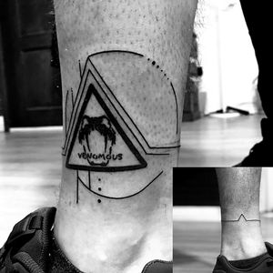 #LifeStory #Venomous #snakebites #triangletattoo