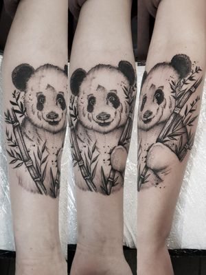 #kuro #kurotrash #tattoo #tattooing #tattoos #tattooed #tattooer #black #blackandwhite #blackwork #blackworkers #ink #inked #darkartists #darkart #onlythedarkest #blackarts #blackink #dotwork #tattooart #tattooartist #vienna #wien #sketch #graphicdesign #blackandwhite #panda #bamboo #blacktattoo #inkstagram
