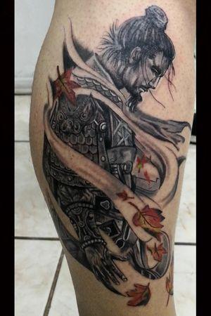 Samurai tattoo by DG in Eternaltattoo Cr