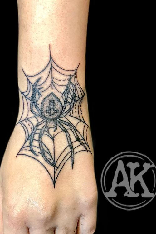 #tattoo #tattoos #tatoo #tattoogirls #tatts #tatto #tatuagem #tattooist #tattooed #tattooer #tattooing #tatuajes #tatuaggio #black #blackwork #blackworktattoo #dotsandstripes #spider #spidertattoo #femaleartist #femaletattooartist #artist #ankiekuis #sweetarttattoo #waalwijk #tribaltrading #tilburg