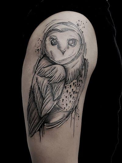 #kuro #kurotrash #tattoo #tattooing #tattoos #tattooed #tattooer #black #blackandwhite #blackwork #blackworkers #ink #inked #darkartists #darkart #onlythedarkest #blackarts #blackink #dotwork #tattooart #tattooartist #vienna #wien #sketch #graphicdesign #blackandwhite #geometric #blacktattoo #owl #owltattoos #owltattoo