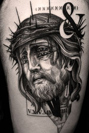 #jesus #jesustattoo #contemporary #Tattoodo