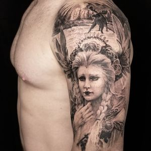 Tattoo by Cast of Crowns Art Collective