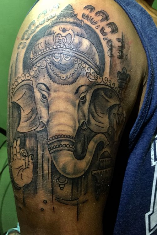 #ganeshtattoo#art#tattoo#learning