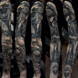 Sleeve is done !