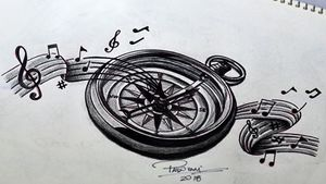 #compass #tattoosketch #bussola #thiagopadovani
