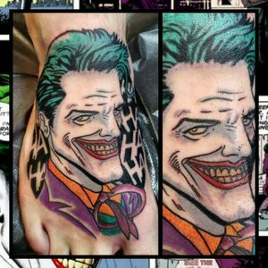 Joker... No worry. Just posting Male cosplayers I feel deserve credit. The female cosplay community is so tight and I really feel that's lacking for us. Especially with sharing others content since most insta pages wont post it unless its sexy.#inkfusion #inkfusionempire #geektattoo #geekedouttattoos #geeksterink #geekytattoos #comicbooktattoo #nerdytattoos #nerdtattoo #nerdtattoos #brightandbold #traditionaltattoo #realtattoos #realtraditional #tattoos #tattooflash #neotraditional #solidtattoo #lasvegastattooer #dccomicstattoo #dccomics #batman #batmantattoo #joker #jokertattoo