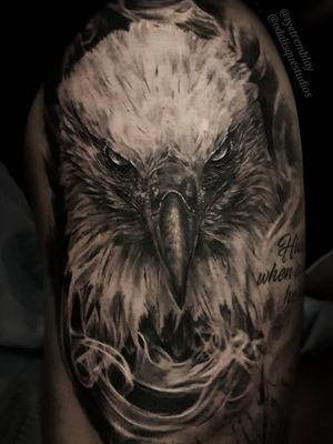 #eagle #birdtattoo #wildlife #honour #blackandgrey #realism