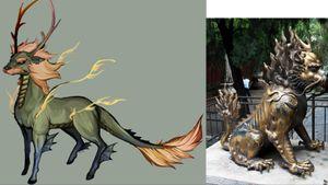 Chinese Kirin/Qilin aka Chinese Unicorn